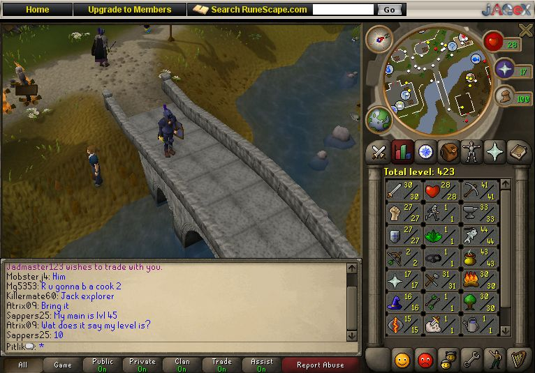 Virtual gold miners Runescape